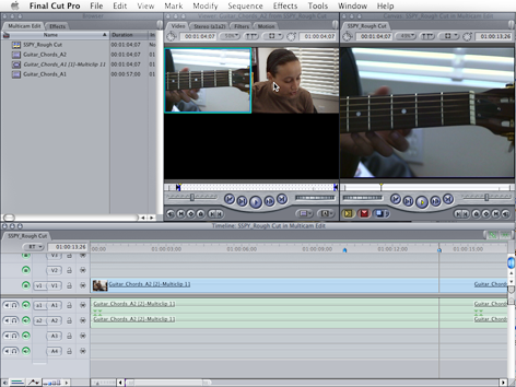 Multi-Clip Editing