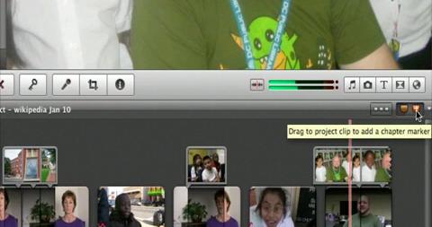 Adding Markers iMovie